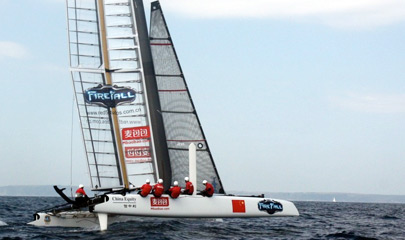 China Team - America's Cup 34th edition
